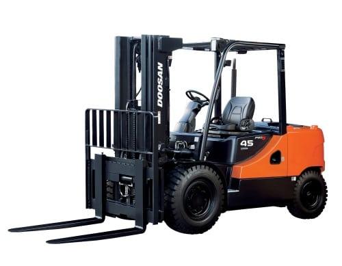 Doosan motortruck 3,5 - 5,5 ton