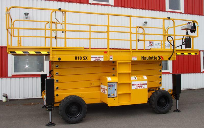 Saxlift 18,00m Haulotte H 18 SX