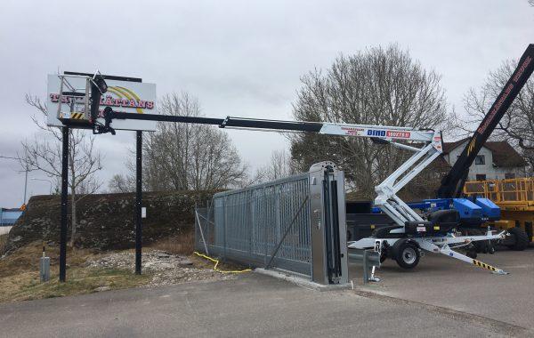 Släpvagnslift Dino 160XTB