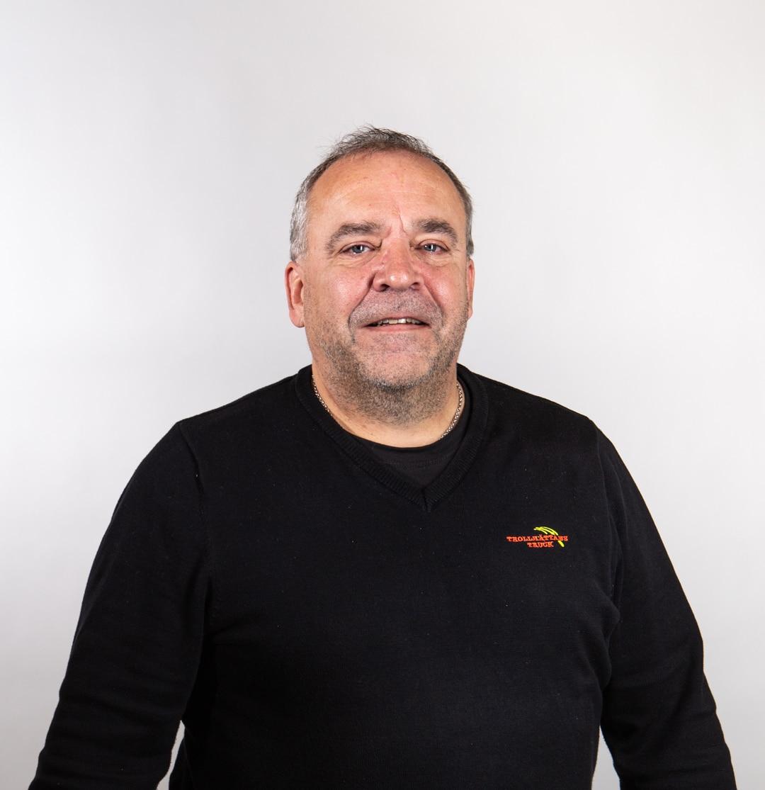 Gunnar Gustavsson - utbildningsansvarig på Trollhättans truck
