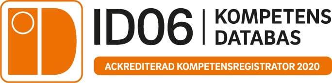 ID06 Ackrediterad kompetensregistrator